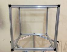 HyperCube 3D Printer Frame Kit 53 x 53 Silver