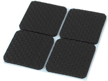 4pcs sticked Anti Vibration for 3D Printers and other machines 20x20 mm