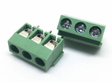 3 Pin PCB Mount Screw Terminals Block Pitch 5mm (R.4)