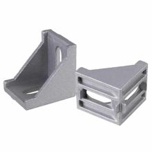 3D Printer and Cnc L 40mm W 40mm Aluminum Profile Corner Connector Bracket