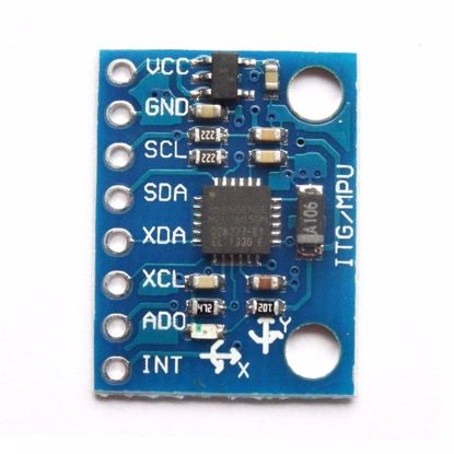 Picture of 3-Axis Gyroscope & Accelerometer Module GY-521 - 16-Bit Digital Output, I2C Interface - MPU6050